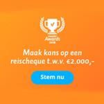 Genomineerd voor een Zoover Award